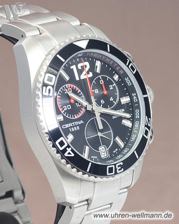certina certina ds action chronograph c0134171105700