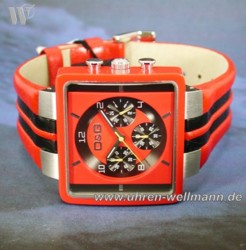 Dolce u. Gabbana Cream Red Chronograph