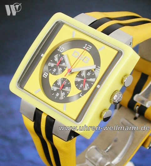 Dolce u. Gabbana Cream Yellow Chronograph