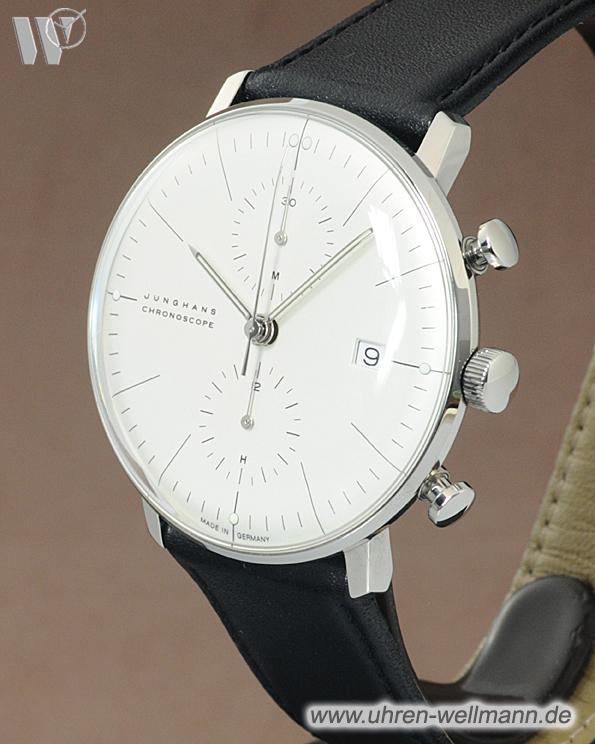 junghans max bill chronoscope chronograph 274600 informieren im archiv 4066. Black Bedroom Furniture Sets. Home Design Ideas