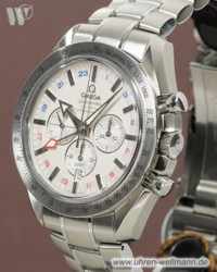 Omega Speedmaster  Broad Arrow GMT Coaxial Chronograph