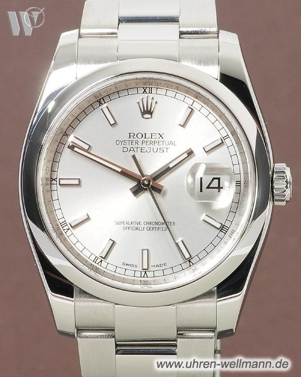 Rolex Datejust 116200 Informieren Im Archiv 3450