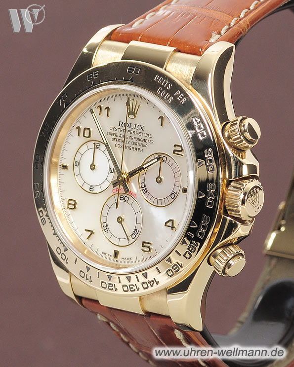 Rolex Daytona Chronograph 116518 Informieren Im Archiv 3333