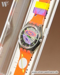 Swatch Silver Planet