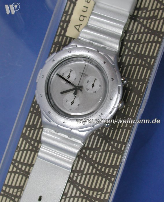Swatch Silver Chronograph