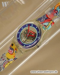 Swatch Tin Toy