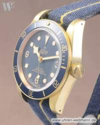 Tudor Heritage Black Bay Bronze Blue 79250B