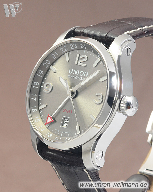 Union Glashütte Belisar GMT 2. Zeitzone