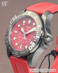 Victorinox Dive Master 500 Black Ice red Taucheruhr