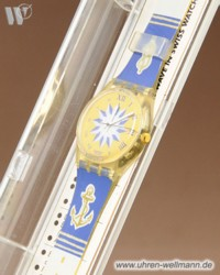 Swatch Blue Anchorage GK 140